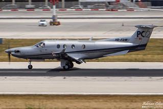Private --- Pilatus PC-12 --- HB-FOW