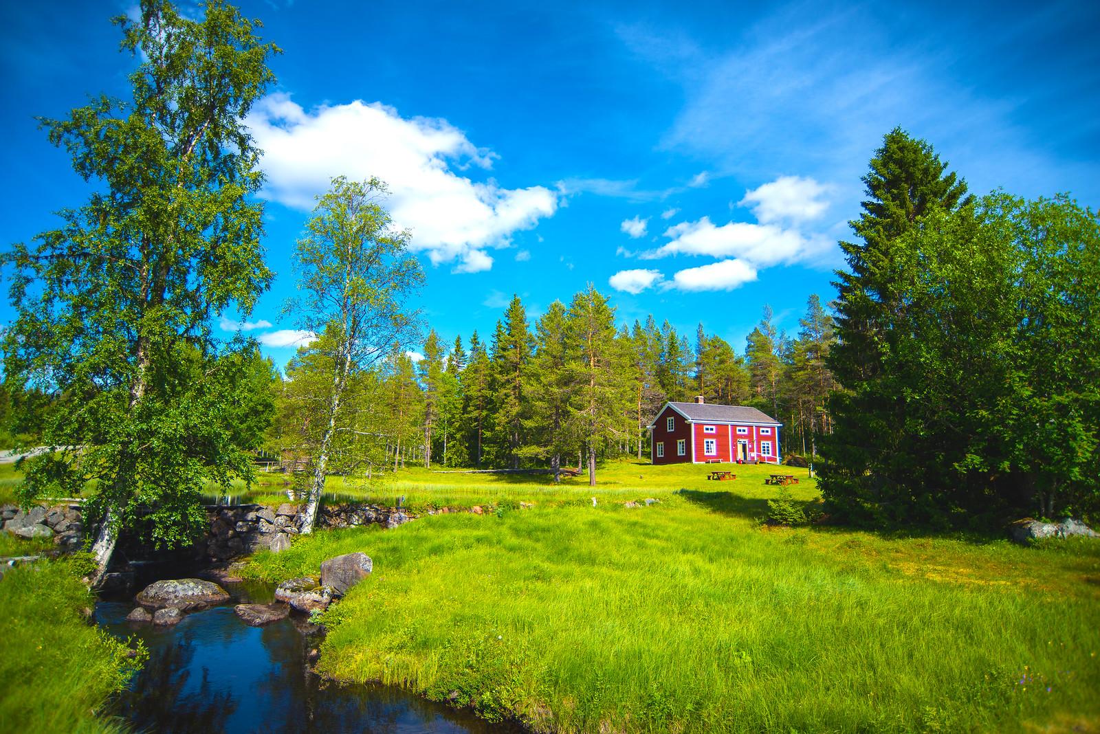 Swedish historical landscape