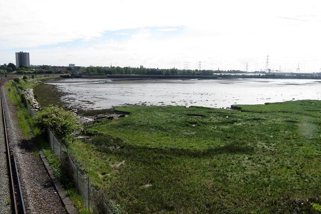 Southampton Water at Totton