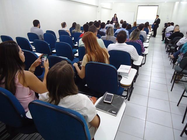 Abertura da XL Edição do Curso Preparatório para o Exercício da Advocacia com o Profº Edson Portela