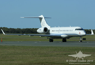 VH-LAW BOMBARDIER GLOBAL EXPRESS XRS