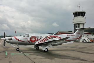 Pilatus PC-12 NG HB-FWM Pilatus Flugzeugwerke