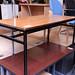Kids teak desk laminate €40
