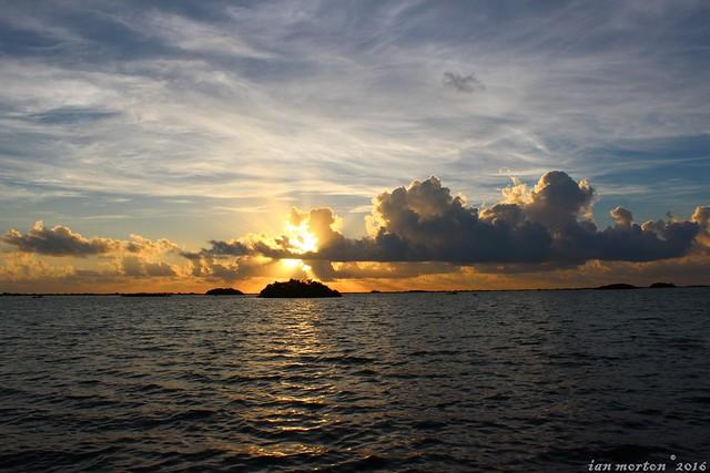 Goodbye Belize Tour - Wildtracks, Sarteneja - Sunrise Day 1 - 20