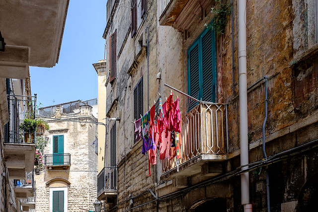 Balcony --- Trani - Puglia - Italia