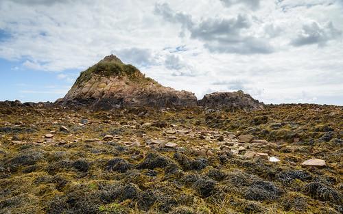 jersey channelislands coast landscape outdoors europa clouds himmel seaweed sky seascape lowtide europe wolken rocks stclement je
