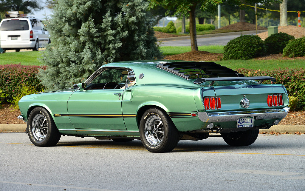 1969 Mustang Mach 1 428 Cobra Jet At The August 2015 Cars