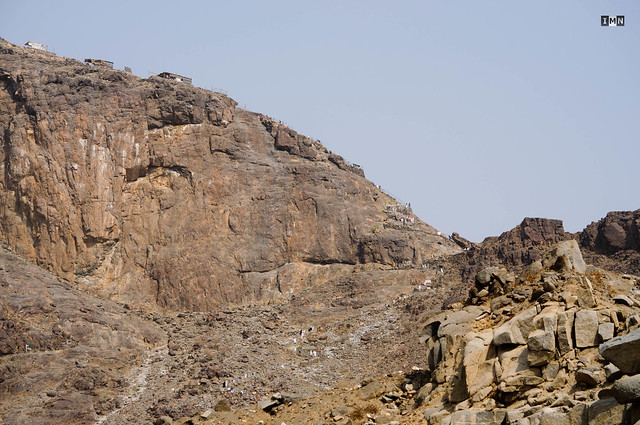 Jabal al Nour - The mountain houses the famed Ghar-E-Hira or Hira cave.