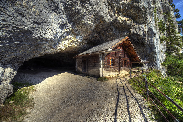 On the way to Wildkirchli - Switzerland