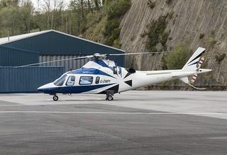 G-DMPI Agusta A109 @ Castle Air Liskeard.