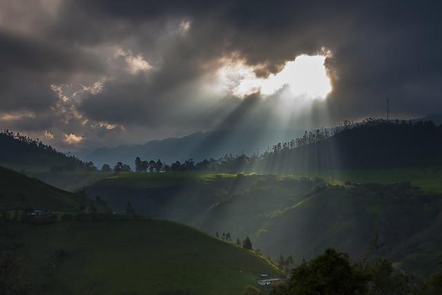 En el territorio del Cóndor de los Andes