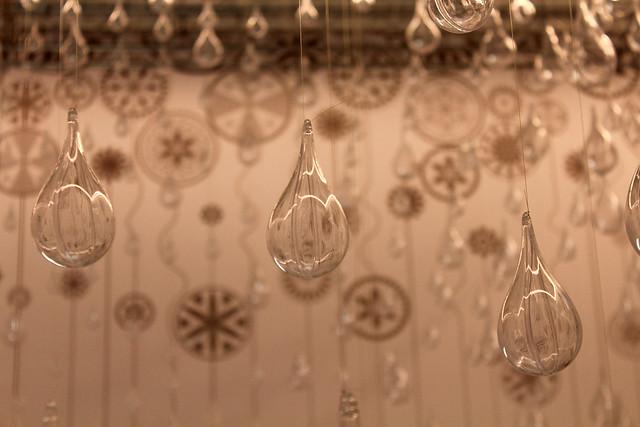 A rain of glass
