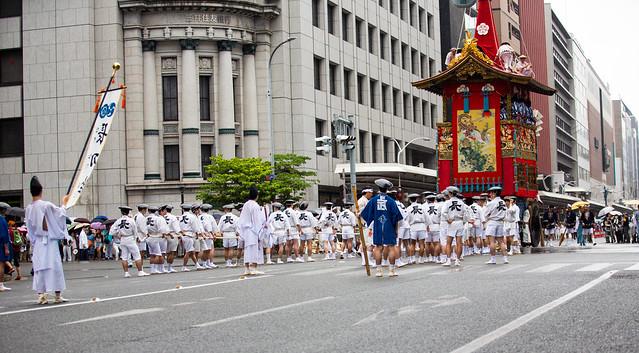 祇園祭 京都 GINOMATSURI 山鉾巡行