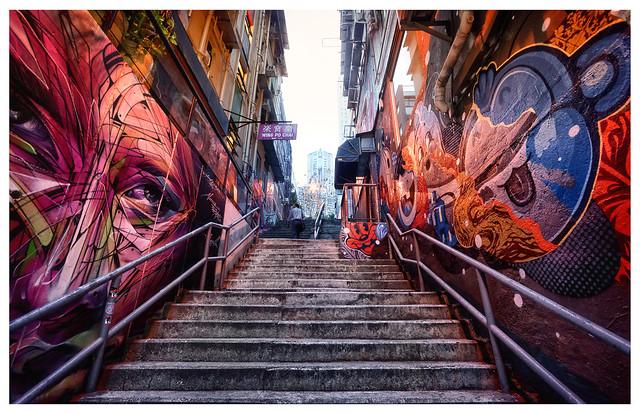 Streets of Hong Kong X