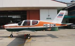 SOCATA TB-9 Tampico HS-TCM-03 CATC Bangkok 12Jan10