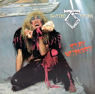 Vintage Vinyl LP Record Album - Stay Hungry Vinyl Album By Twisted Sister, Catalog Number A1 80156, Heavy Metal-Hard Rock-Glam, Atlantic Records, 1984 | by France1978