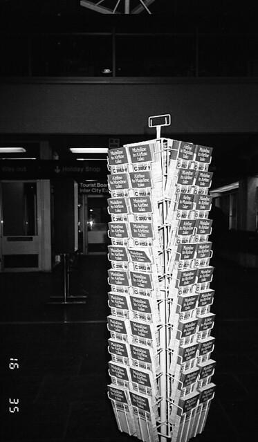 Careline leaflets rack