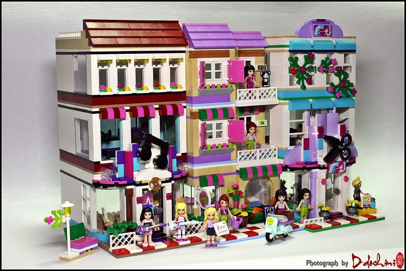 LEGO Friends Modular House