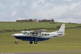 Cessna Grand Caravan EX N583EX at Isle of Man EGNS 02/06/15