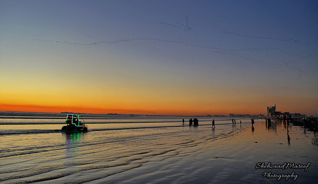 Seaview Beach, Karachi