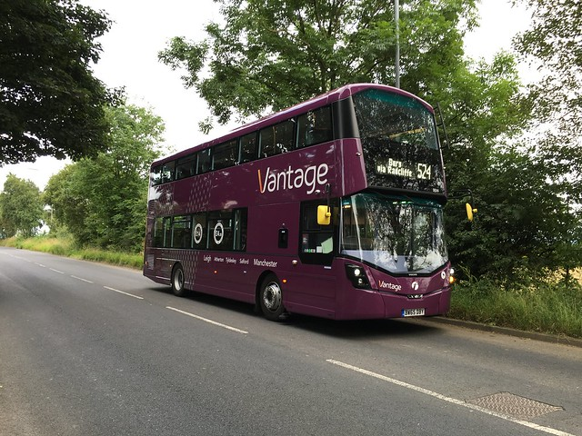 First Manchester's Vantage 39244 (BW65DBY) Volvo B5H Wright Eclipse Gemini 3