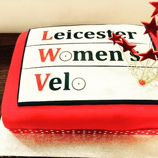 This cake's got our name on it...