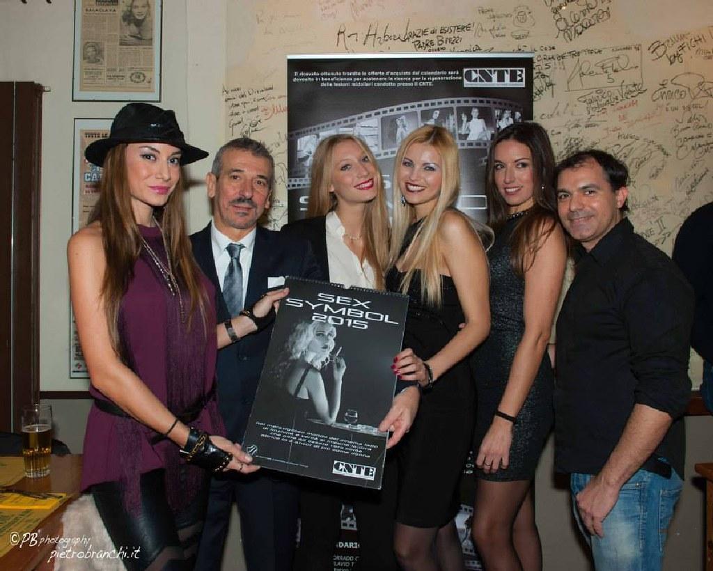 Vera Atyushkina Calendario.Sex Symbol 2015 Presentazione Calendario Con Elisa Scheffl