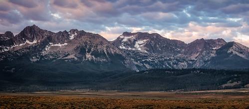 mountains morning sunrise idaho canon5dii landscape outdoor