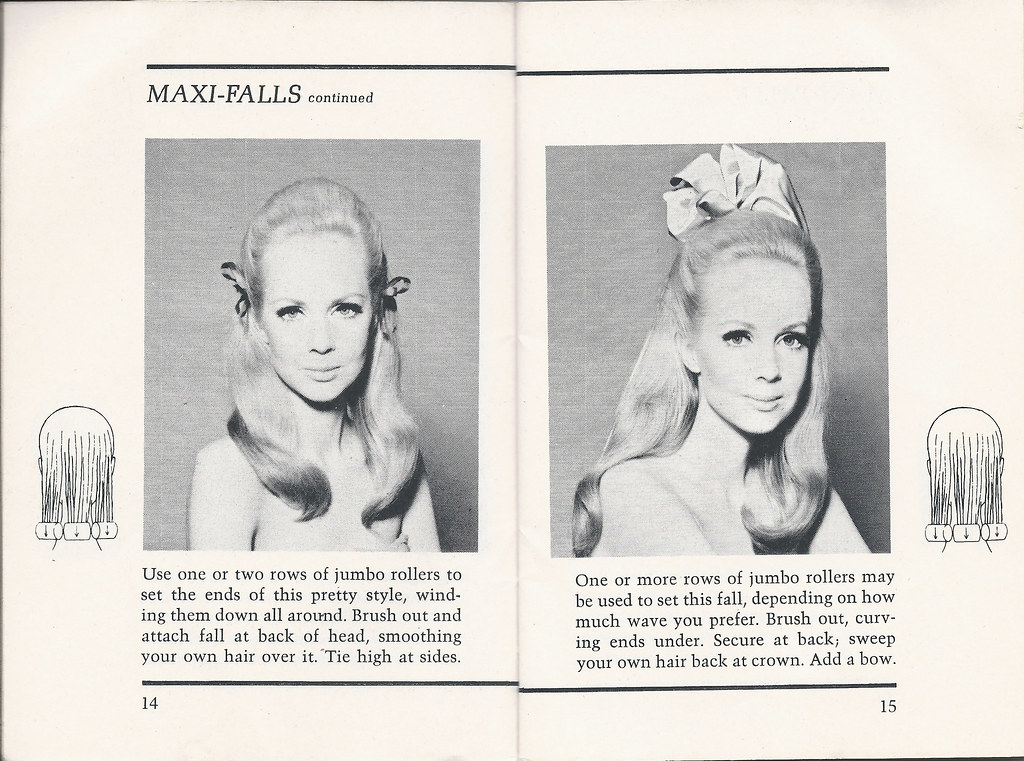 Groovy 1960S Hairstyles Maxi Falls Continued Pages 14 And 15 C Flickr Schematic Wiring Diagrams Amerangerunnerswayorg
