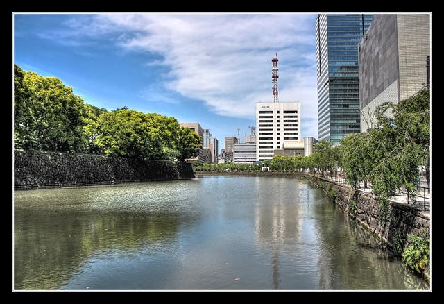 Tokyo J - Edo Castle water ditch