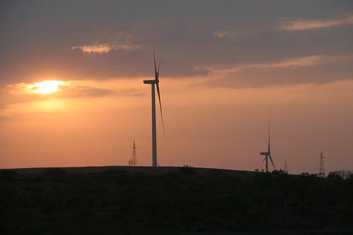 china energy wind renewable shaanxi turbines jingbian