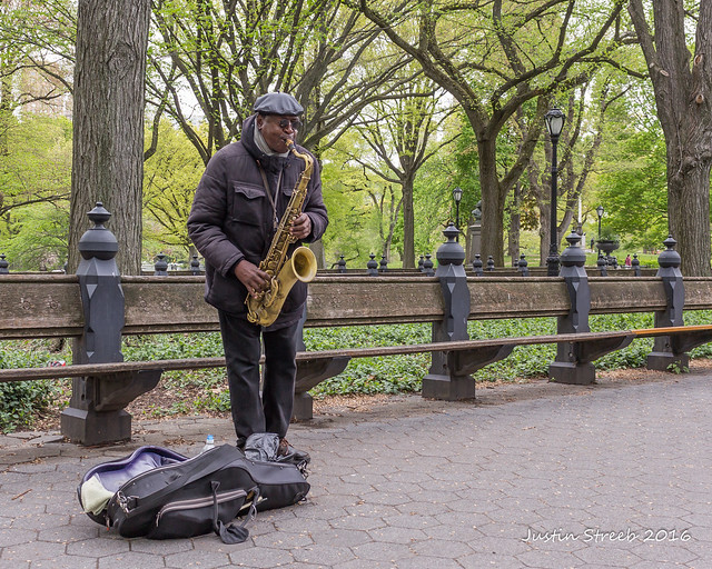 Central Park Musician 2