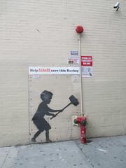 Help Zabars Save this Banksy Graffiti Street Art 3609