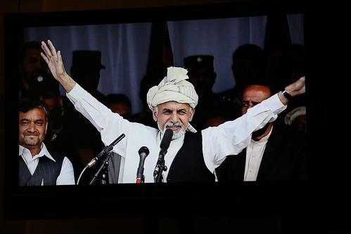 2015 Distinguished International Leadership Award honoree President Ashraf Ghani