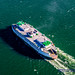 MV Chelan Heading to Mukilteo From the Air by AvgeekJoe
