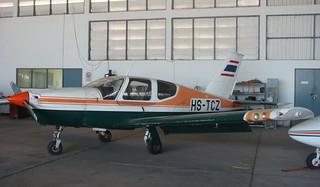 SOCATA TB-20 Trinidad HS-TCZ-02 Hua Hin 14Jan10