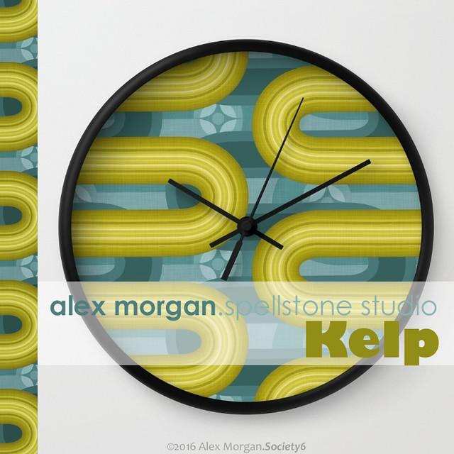 Kelp.wall clock