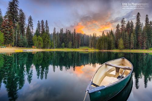 california sunset sky usa cloud lake reflection tree water forest canon landscape photography boat unitedstates sequoianationalpark montecito kingscanyonnationalpark ericlo eos5dmarkiii 5d3 ef1124l ef1124mmf4lusm