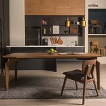 赫茲餐桌+斐特餐椅