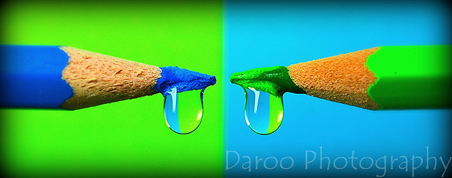 Verde y azul - Green and blue