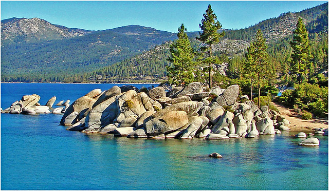 Sand Harbor, Lake Tahoe 9-10