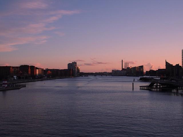 Late afternoon in Copenhagen harbor