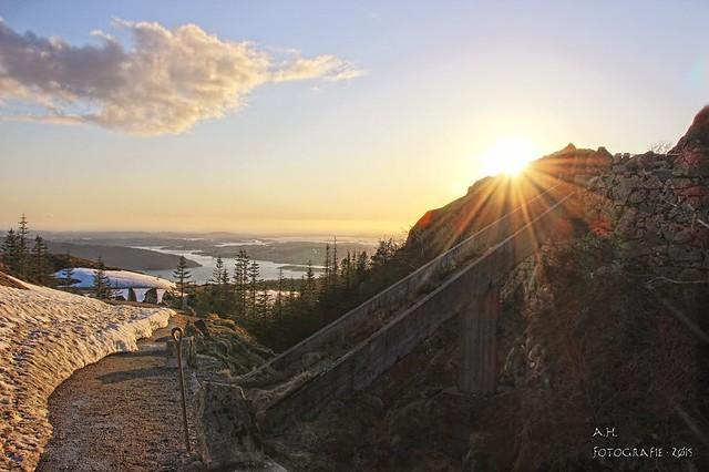 Rundemanen sunset