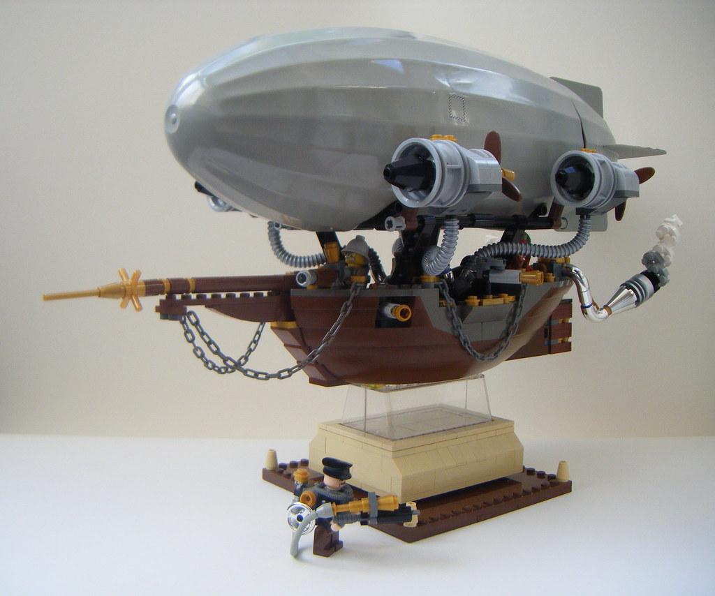 Old Photo Toy Lego Airship