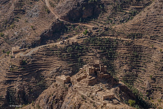 Terraced farms and mountain village - Shihara, Yemen | by Phil Marion (176 million views - THANKS)