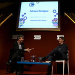 Alvaro Enrigue   One of Mexico's most exciting novelists talks about his new tale with Book Festival Director Nick Barley © Helen Jones