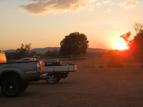 Sunset at the Golf Course, Kununurra, Western Australia