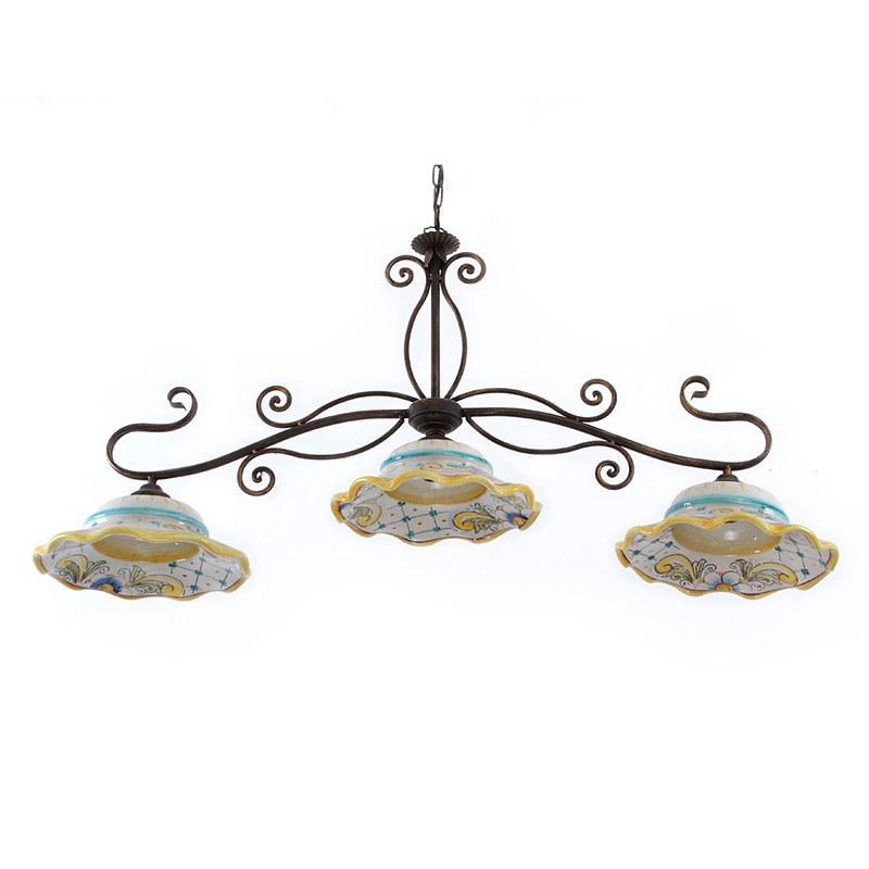 Lampadari In Ceramica Di Caltagirone.Lampadari In Ceramica Di Caltagirone Www Ceramichecaltagir Flickr