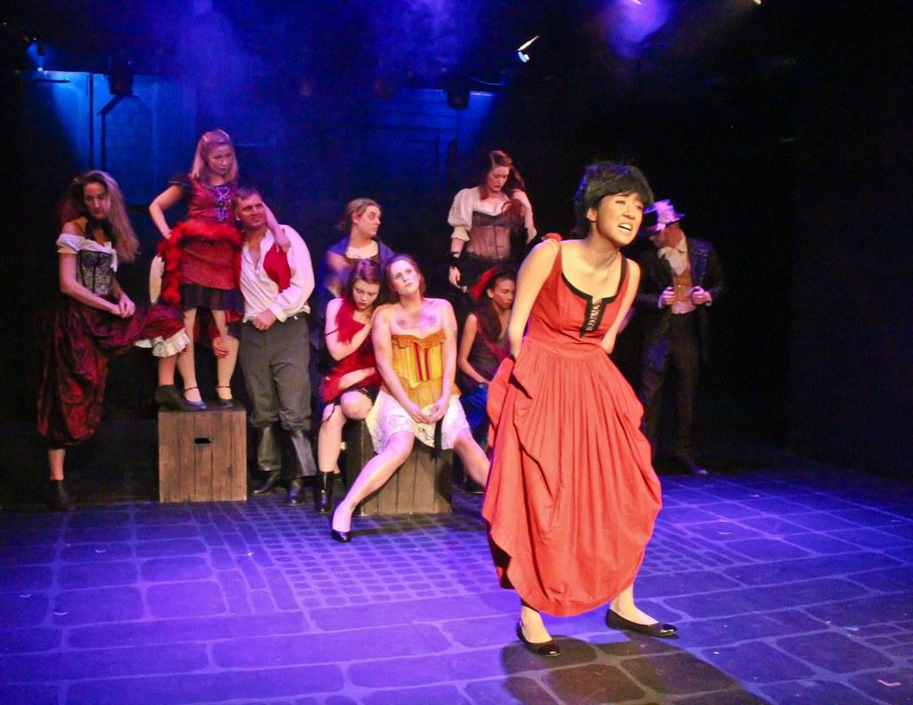 Les Misérables' cast captures Topper Awards   Rebekah Mason