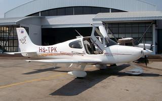 Cirrus SR20 HS-TPK Hua Hin 14Jan10